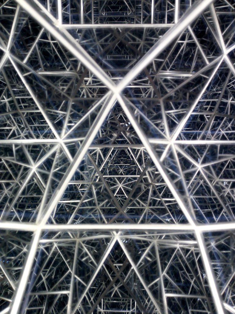 Kuboktaeder-Struktur