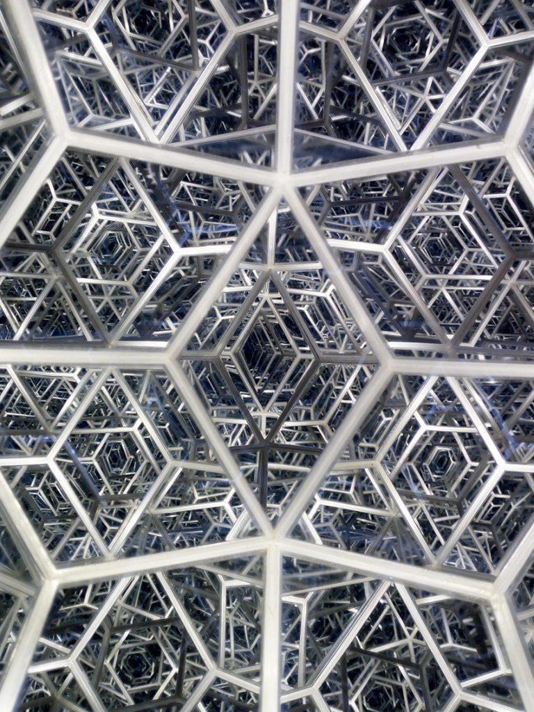 Triakontaeder-Struktur